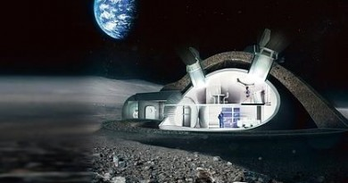 base en la luna