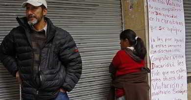 25 de junio (AFKA) La Paz.- Jefe de seguridad de campamento personas discapacitadas hizo declaraciones sobre abusos entre discapacitados, y violaciones a sus compañeras del mismo campamento.  foto:AFKA/Claudia MORALES LARUTA