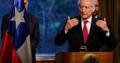 6 de JUNIO del 2016/SANTIAGO  El Ministro de Relaciones Exteriores, Heraldo Muñoz, realiza punto de prensa donde se refirió sobre demanda de Chile ante la haya en contra de Perú por el río Silala  FOTO:FRANCISCO FLORES SEGUEL/AGENCIAUNO