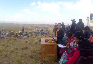 Comunarios del Ingenio mantienen el estado de emergencia, exigen  al concejo municipal que  sesione en el relleno sanitario