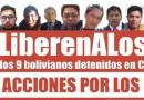 Defensor del Pueblo activa campaña por la liberación de los 9 bolivianos detenidos en Chile