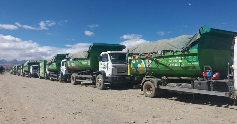 camiones trebol