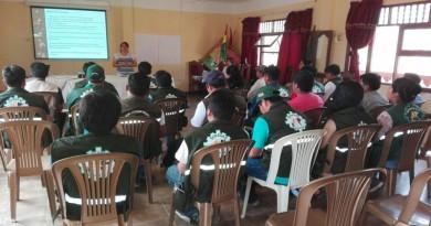 Senasag organizó capacitación para el control del murciélago 'Desmodus rotundus' en San Buenaventura