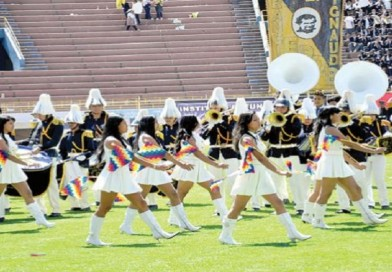 'II Concurso de Bandas de Guerra' estudiantil se desarrolla este domingo