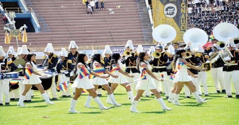Este domingo se desarrollara el concurso de bandas musicales  estudiantiles en El Alto