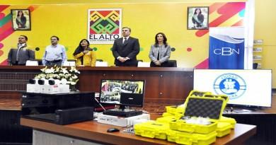 CBN ENTREGA LOTE DE CAMARAS DE SEGURIDAD AL GAMEA (6)