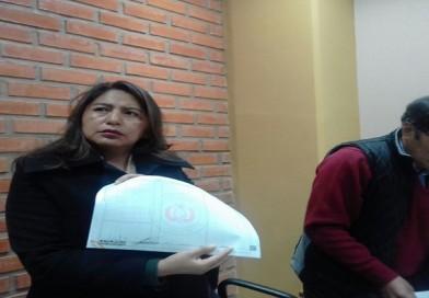 Magistrada Alanoca evidencia deficiencias  en oficinas  Derechos Reales de El Alto
