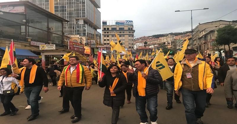 No respetar los resultados del 21 de febrero es traición a la patria: Chapetón