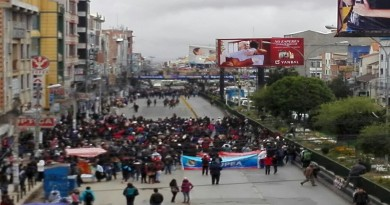 marcha UPEA