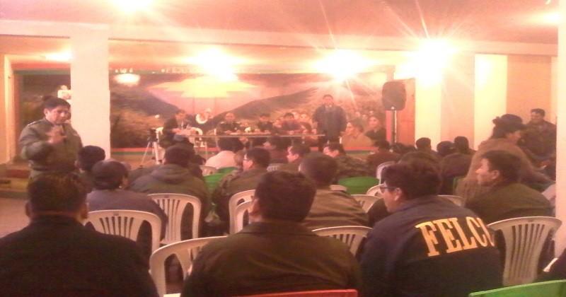 Policía informa que se disminuyó   la delincuencia en un  59% y FEJUVE El Alto exige al Gobierno más efectivos policiales