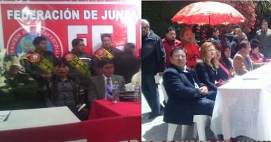 concejo MunicipAl, El Alto, FEJUVE