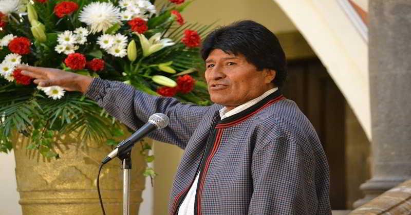 Morales: Bolivia está abierta a cualquier cooperación internacional para apagar el incendio en la Chiquitania; suspende campaña electoral