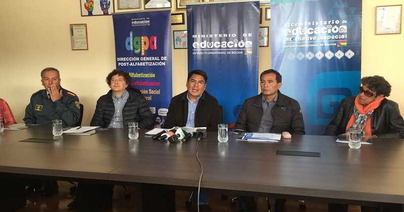 """Educación presenta VII campaña """"Bolivia Lee"""" que apunta a recolectar un millón de libros"""