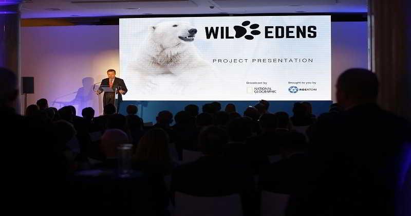 Rosatom y National Geographic presentan Wild Edens, una serie de documentales dedicados a la lucha contra el calentamiento global