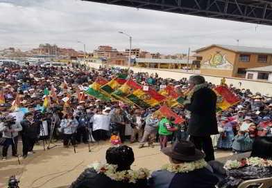 Alcantarillado Sanitario beneficia a 38 urbanizaciones de El Alto