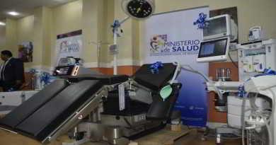 Ministerio Salud- Equipamiento