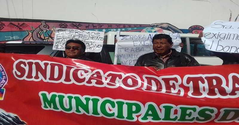 Trabajadores Municipales-El Alto