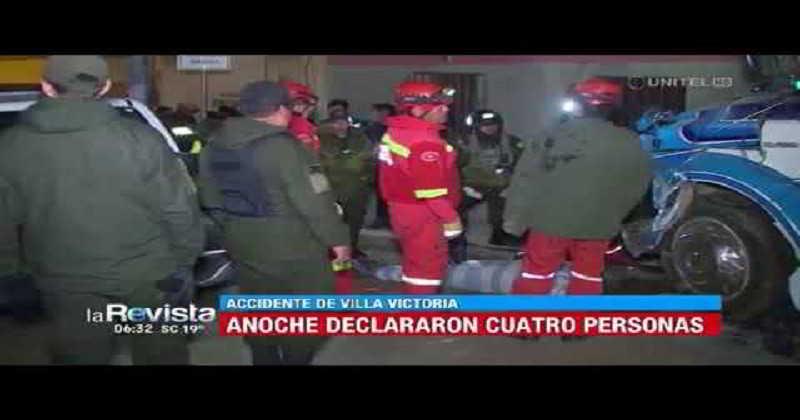 Chofer que causó la muerte de siete personas en Villa Victoria se entrega al Ministerio Público