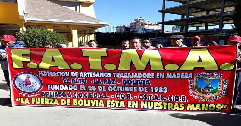 Trabajadores en madera piden atención a sus demandas, se movilizan el martes