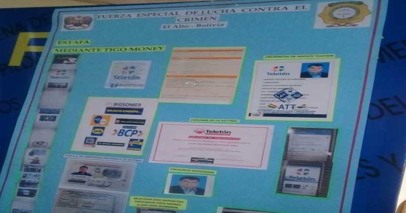 Policía alerta a la población sobre estafas a través deTigo Money – Teletón