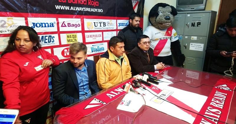 Alcaldía- equipo Always Ready