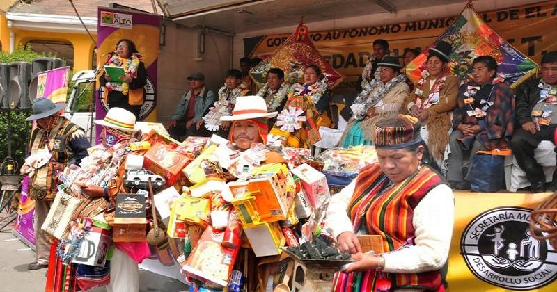 Alcaldía  presenta la Feria de la Alasita 2019