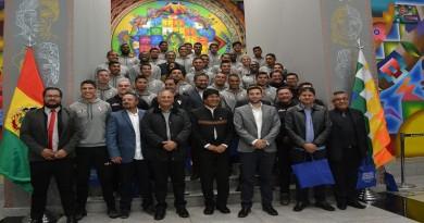 Gobierno respalda al club Always Ready para que represente a la ciudad de El Alto