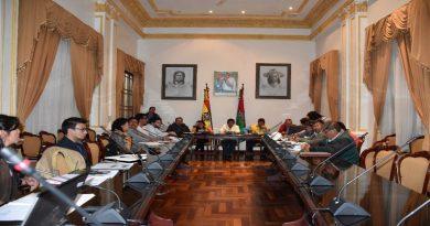 1ra reunión de la Gobernación con municipios de La Paz y El Alto para consolidar una gestión integral de residuos