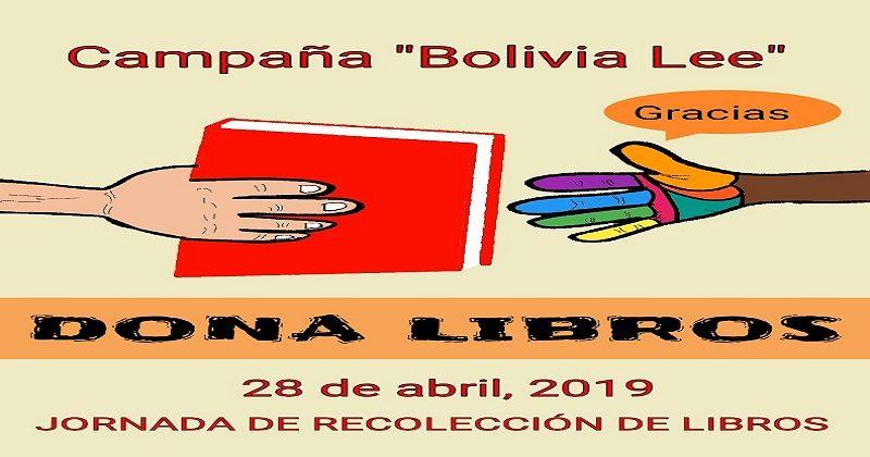 Este domingo 28 de abril instalaran once  puntos  para recolectar libros