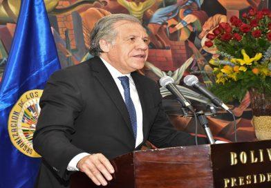 Elecciones: Decir que Evo Morales hoy no puede participar sería absolutamente discriminatorio (Almagro)