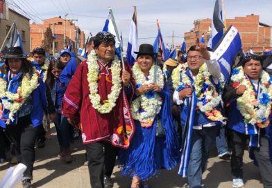 El MAS asegura triunfo en las cuatro circunscripciones uninominales de El Alto