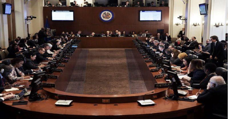 OEA ofrece apoyo a Bolivia para próximo proceso electoral y compromete envío de misión de observadores