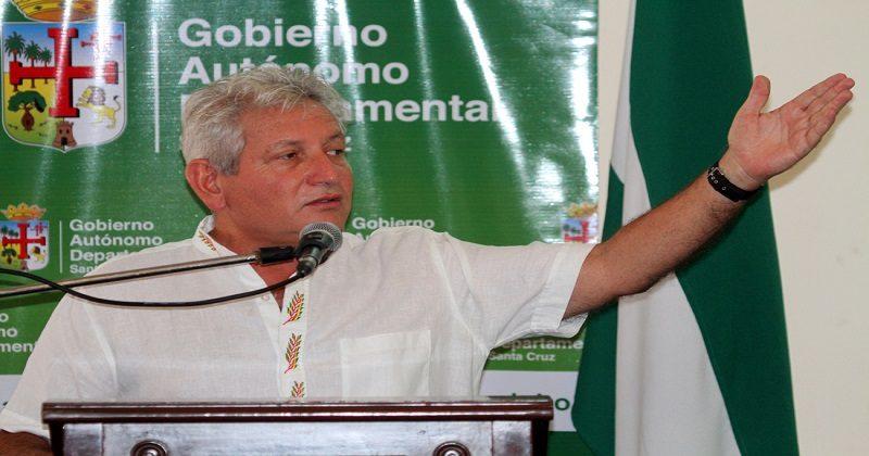 Gobernador cruceño exige la «reposición» de la segunda vuelta