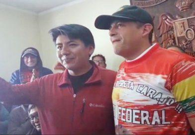 Camacho y Pumari abren posibilidad de ir como binomio a comicios si se concreta un frente único