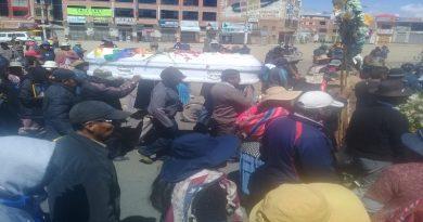 Gobierno indemnizará a familiares de fallecidos en conflicto tras las elecciones con Bs 50.000