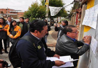 Fiscalía desprecinta el Despacho de la alcaldesa Soledad Chapetón