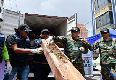 Secuestran más de una tonelada de clorhidrato de cocaína que pretendía ser enviada a Bélgica