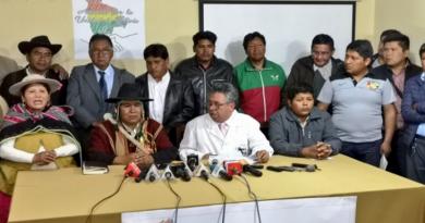 Pacto de Unidad por Bolivia anuncia que buscará candidatos para las elecciones del 3 de mayo