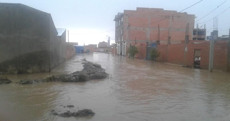 Resultado de imagen de inundacion en la paz 2020