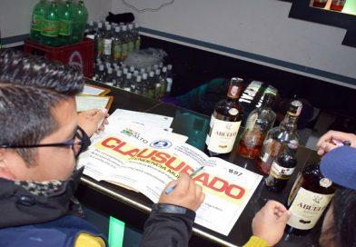 Alcaldía reforzará controles desde las 22.00 a 05.00 en locales de expendio de bebidas alcohólicas