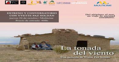 """""""La Tonada del Viento"""", película bolivianase estrena en el Multicine de El Alto"""