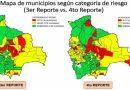 Suben de 48 a 62 los municipios con riesgo alto por coronavirus en Bolivia
