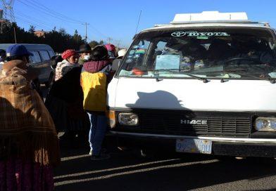 Alcaldía pide conciencia social tras la flexibilización del transporte público en El Alto