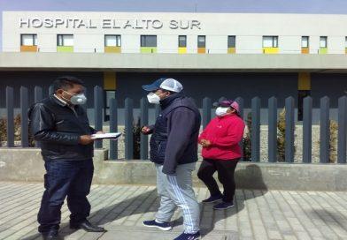 Concejal alteño exige al gobierno el funcionamiento del Hospital del Sur