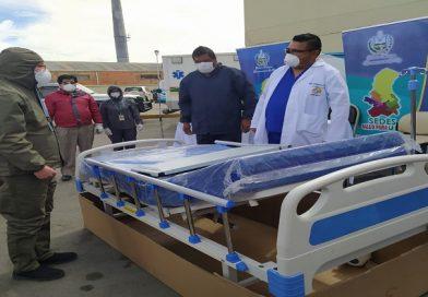 Sedes entregó camas hospitalarias a dos nosocomios