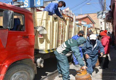 YPFB Y ANH suman esfuerzos para mantener el abastecimiento de GLP en La Paz y El Alto