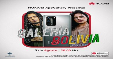 Huawei AppGallery presenta: Galería Bolivia, un innovador concierto virtual en homenaje a nuestra patria