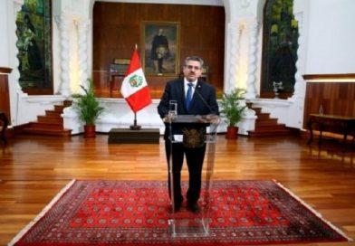 Fugaz mandato: Presidente interno de Perú presenta renuncia tras mortales protestas