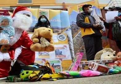 Alcaldía inicia campaña navideña para recolectar juguetes