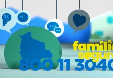 """Unicef habilita la línea gratuita """"Familia Segura"""" 800-11-3040 para apoyo a la niñez y adolescencia de Bolivia"""